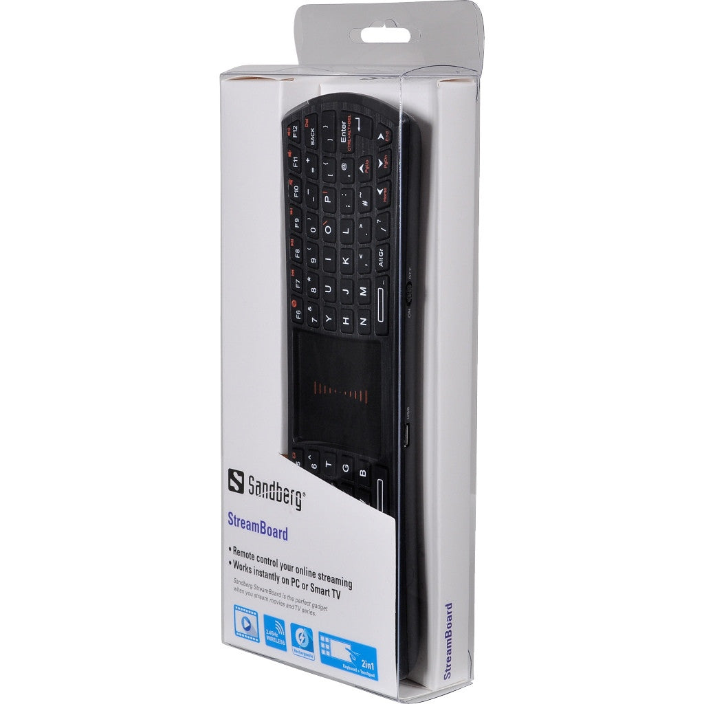 Sandberg StreamBoard UK - Keyboard by Sandberg The Chelsea Gamer