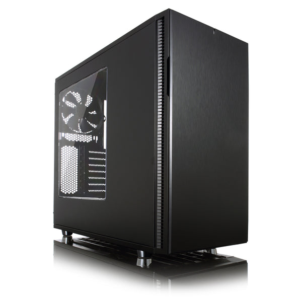 Define R5 Blackout Edition with Side Window - Core Components by Fractal Designs The Chelsea Gamer