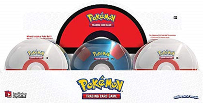 Pokemon TCG Trading Card Game Poke Ball Tin Series 3