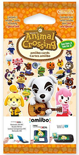 Animal Crossing: Happy Home Designer Amiibo Cards Pack - Series 2 - merchandise by Nintendo The Chelsea Gamer