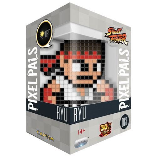 Pixel Pals Street Fighter: Ryu - Capcom Light Up Display - merchandise by PDP The Chelsea Gamer