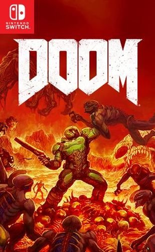 Doom - Nintendo Switch - Video Games by Nintendo The Chelsea Gamer