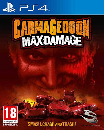Carmageddon: Max Damage PS4 - Video Games by Sold Out The Chelsea Gamer