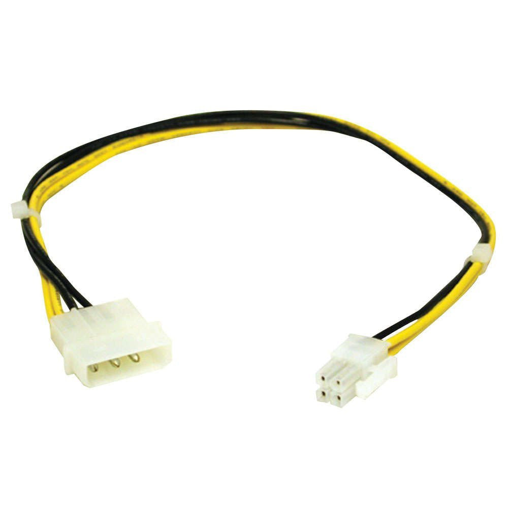 C2G 0.30m ATX Power Supply to Pentium 4 Power Adapter Cable