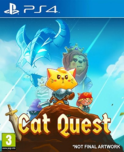 Cat Quest - PS4 - Video Games by pqube The Chelsea Gamer