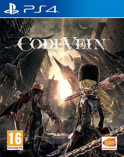 Code Vein -PS4 - Video Games by Bandai Namco Entertainment The Chelsea Gamer