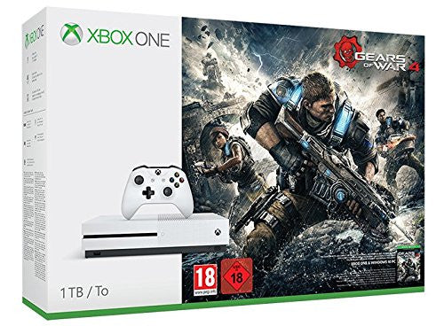 XBOX ONE S GEARS OF WAR 4 Bundle - 1TB - Console pack by Microsoft The Chelsea Gamer