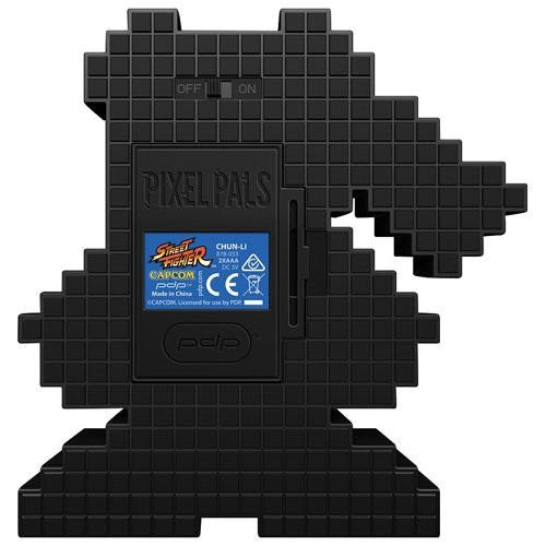Pixel Pals Street Fighter: Chun-Li - Capcom Light Up Display - merchandise by PDP The Chelsea Gamer