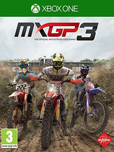 MXGP3 - The Official Motocross Videogame (Xbox One) - Video Games by Milestone The Chelsea Gamer