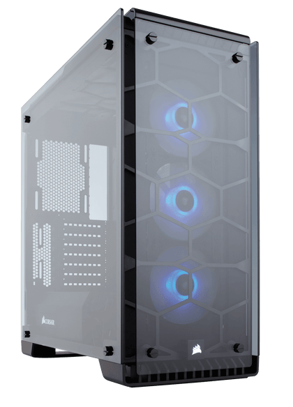 Corsair Crystal Series 570X - Core Components by Corsair The Chelsea Gamer