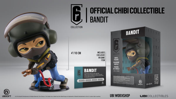 Six Collection Bandit Chibi Series 3 Figurine
