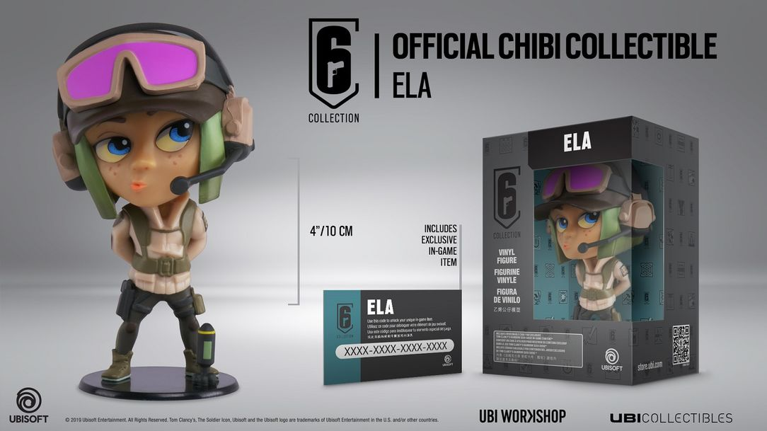 Six Collection Ela Chibi Series 3 Figurine