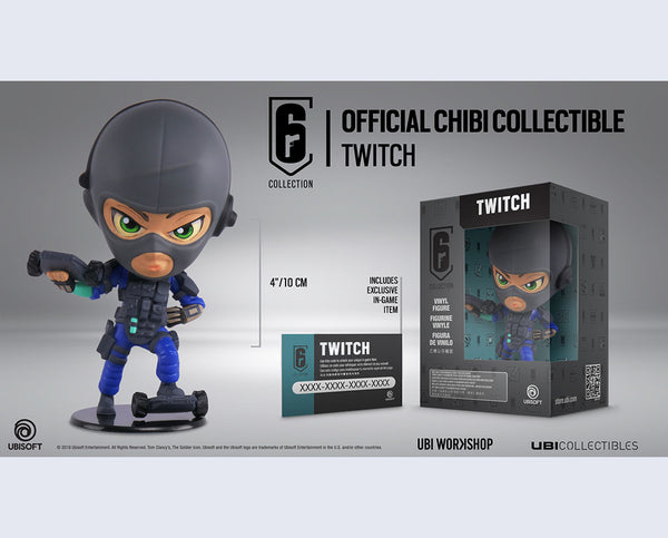 Six Collection Twitch Chibi Series 3 Figurine