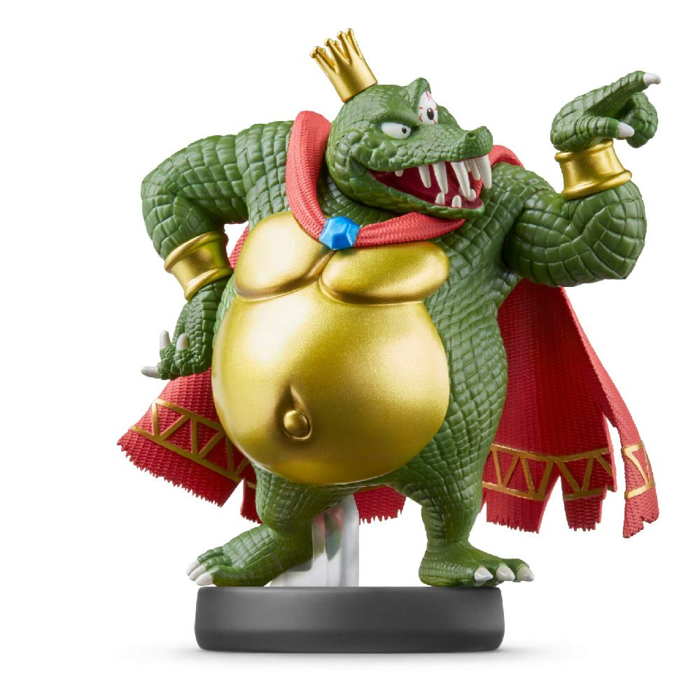 Super Smash Bros. Collection - King K. Rool Amiibo