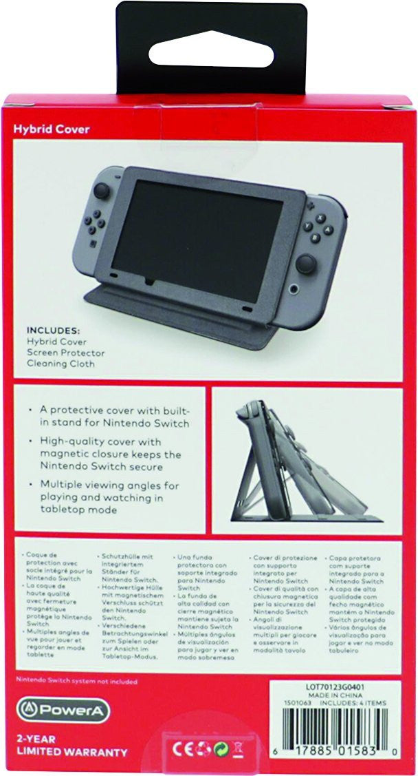 Nintendo Switch Hybrid Cover- Licensed - Console Accessories by Good Better Best - Gioteck The Chelsea Gamer