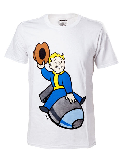 Fallout 4 Vault Boy - Bomber T-Shirt - merchandise by Bethesda The Chelsea Gamer