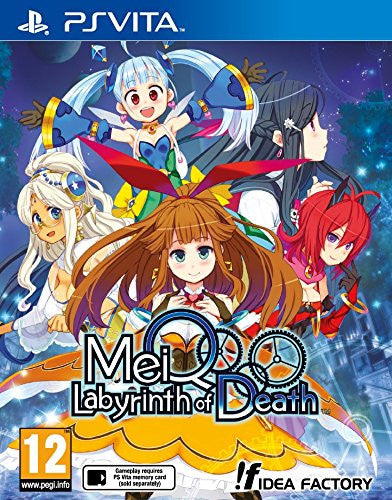 MeiQ: Labyrinth of Death (PlayStation Vita) - Video Games by Idea Factory International The Chelsea Gamer