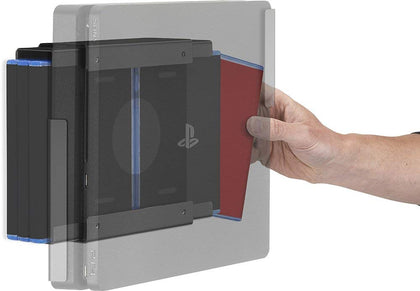 GamingXtra Gaming Wall Mount - PS4 and Xbox One - Universal Game Storage Unit