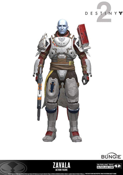 Destiny -  Zavala Action Figure, 18cm - merchandise by MacFalane The Chelsea Gamer