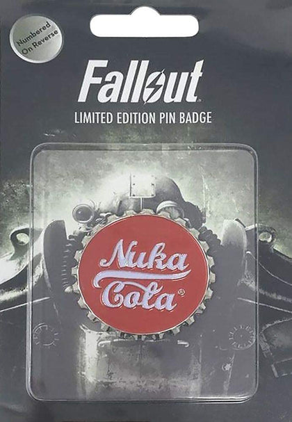 Fallout Pin Badge-Nuka Cola