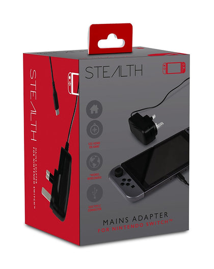 STEALTH Nintendo Switch Mains Adaptor
