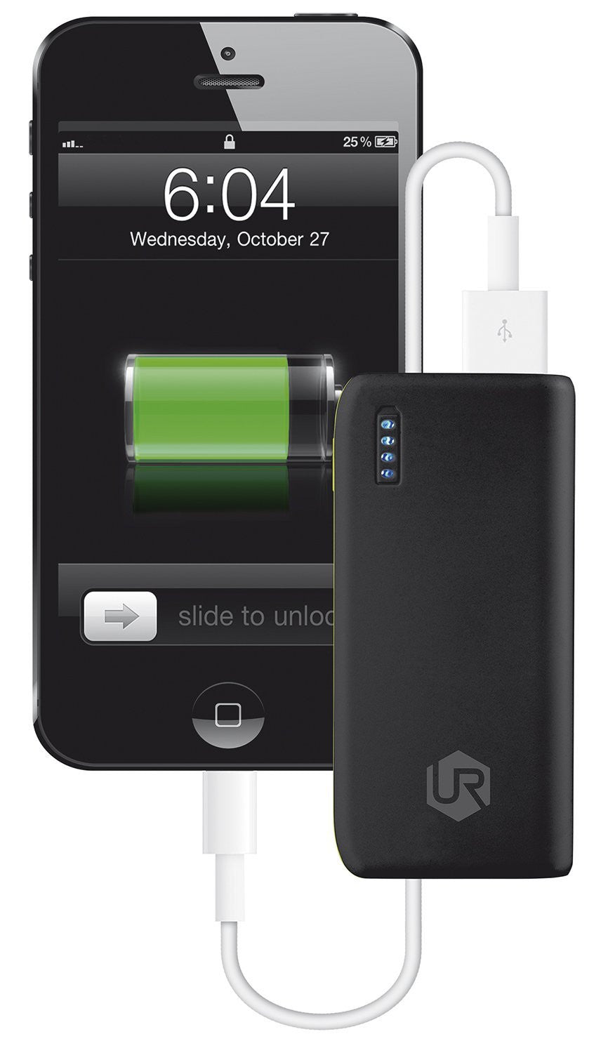 Urban Revolt Power Bank Portable Charger for Smartphones and Tablets