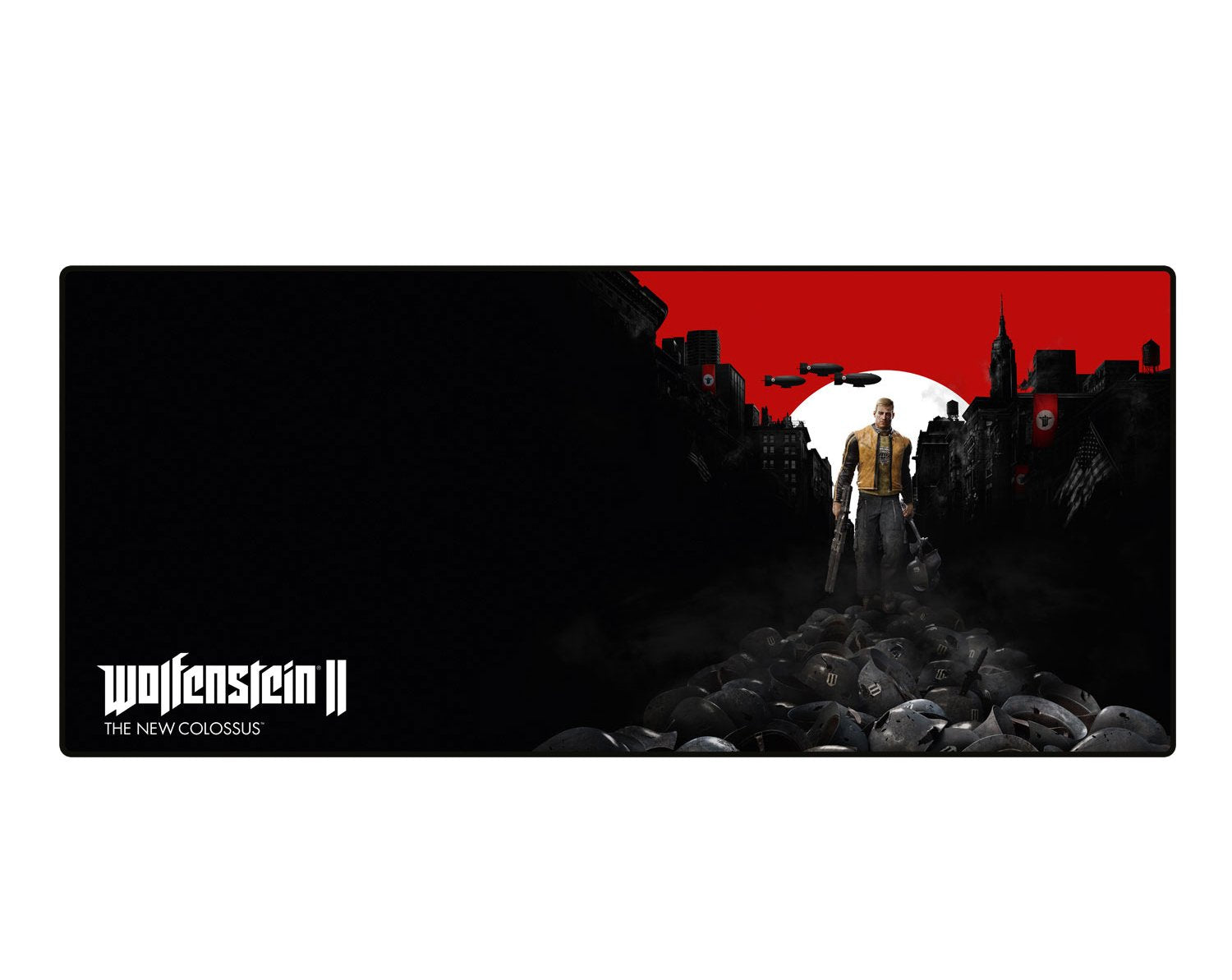 WOLFENSTEIN II The New Colossus Trail of the Dead - Oversize Mousepad