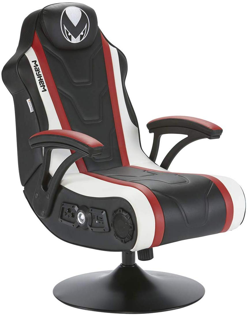 Mayhem Maestro 4.1 Wireless and Bluetooth Audio Pedestal Gaming Chair