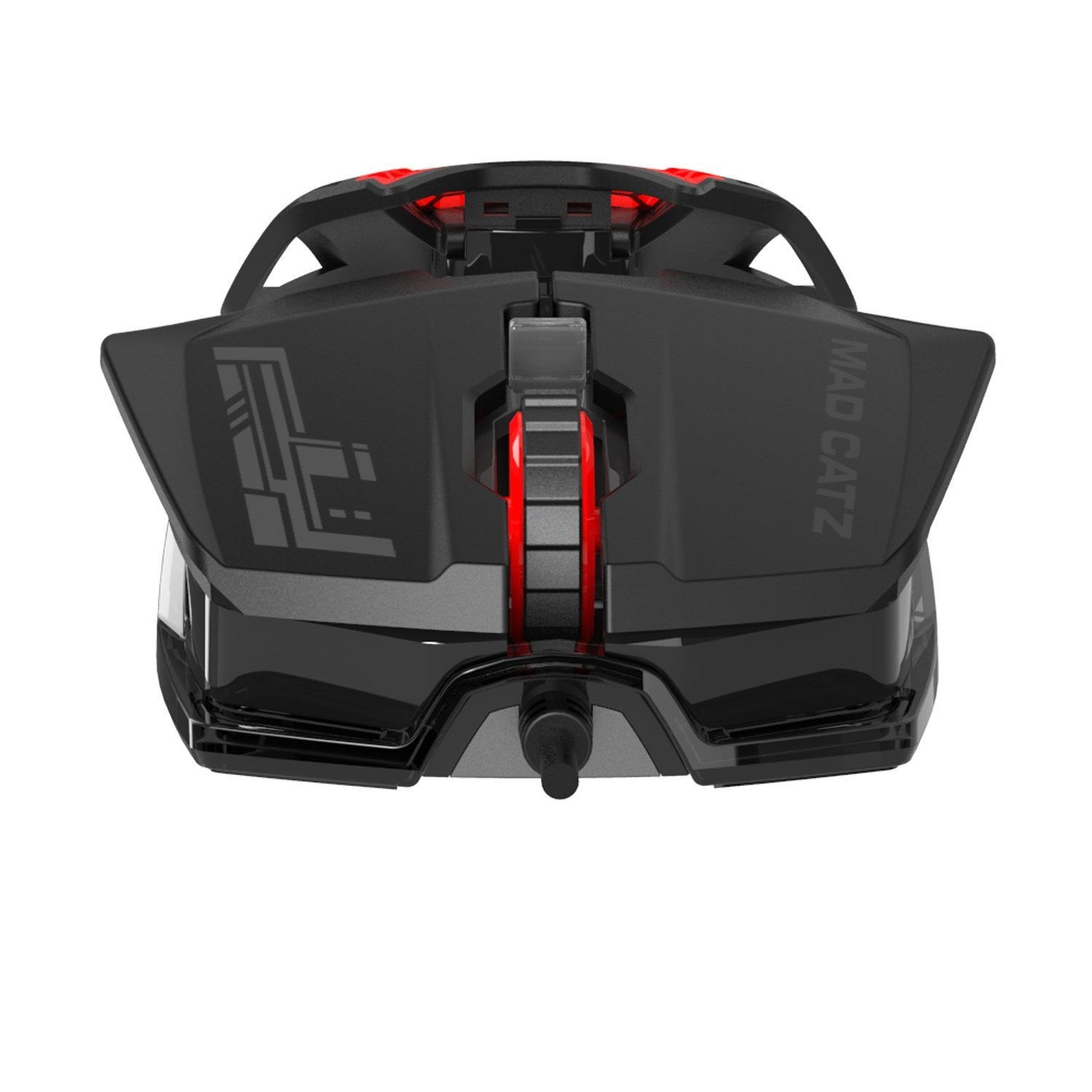 Mad Catz RAT1 Wired Optical Gaming Mouse - Black / Red - Mice by Mad Catz The Chelsea Gamer