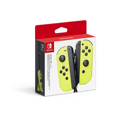 Nintndo Switch Joy-Con Pair Yellow - Console Accessories by Nintendo The Chelsea Gamer
