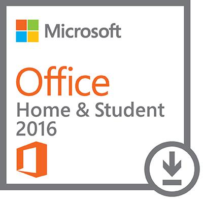 Microsoft® Office Home & Student 2016, 1 PC