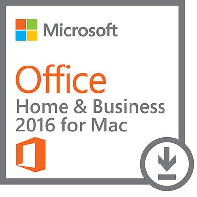 Microsoft® Office Home & Business 2016 - 1 MAC