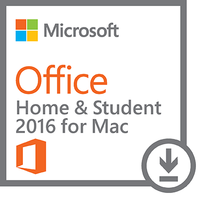 Microsoft® Office Home & Student 2016, 1 MAC