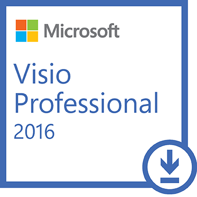 Microsoft® Visio Professional 2016 Win All Lng PK Licence - Online Download