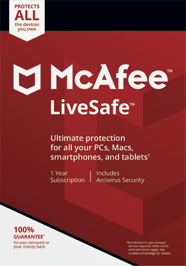 McAfee® LiveSafe™ (UK+Ireland) - Download