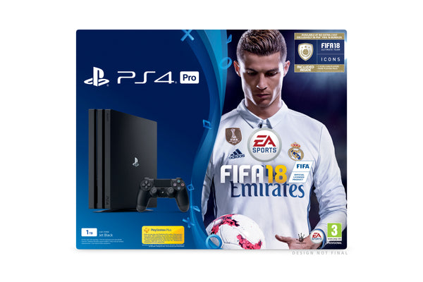 Sony PlayStation 4 PRO - 1TB - FIFA 18 Bundle