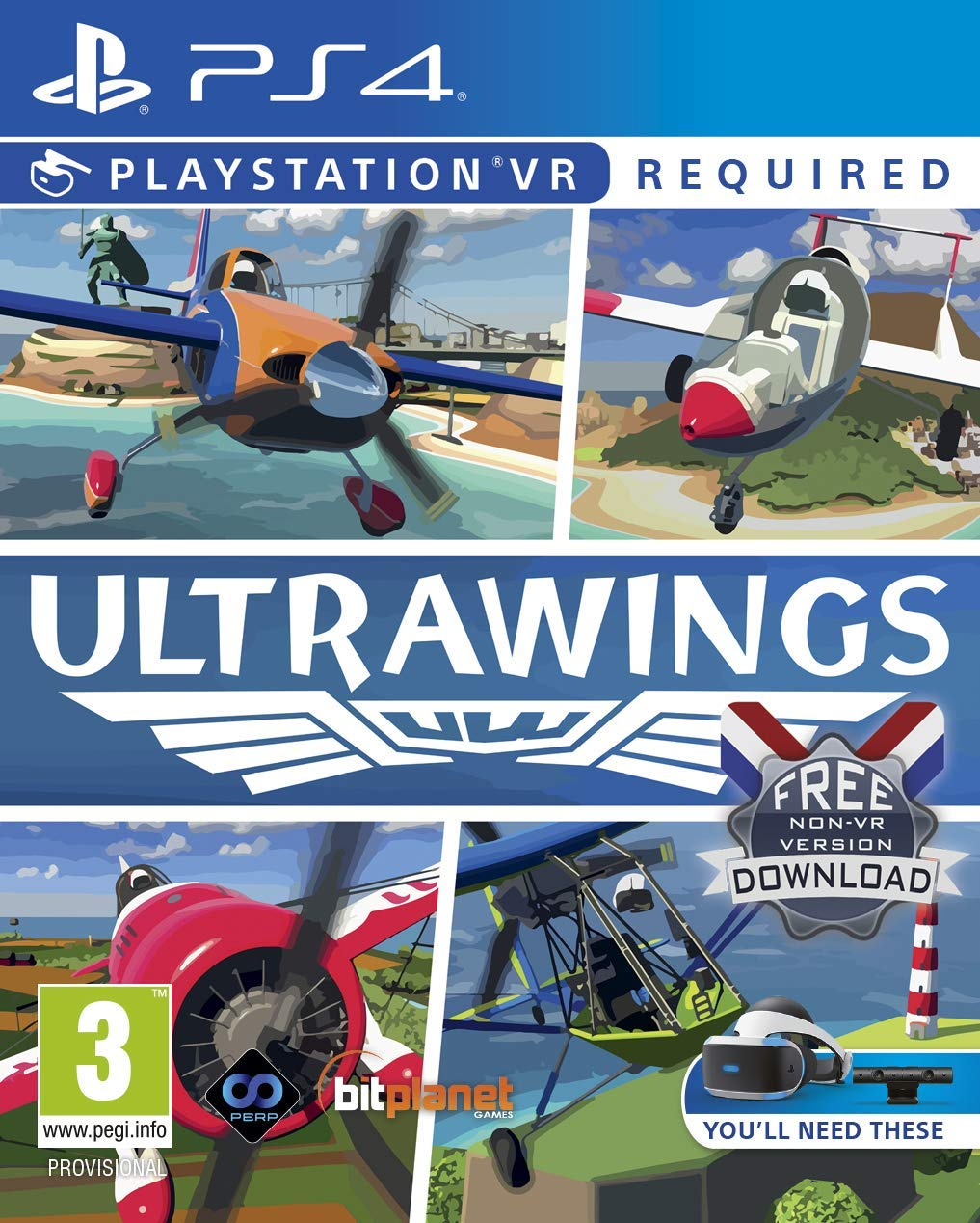 Ultra Wings PlayStation VR