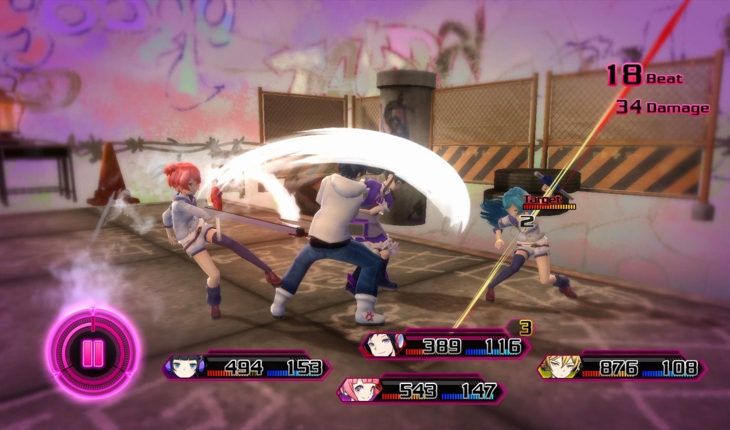 Akiba's Beat - PS4 - Video Games by pqube The Chelsea Gamer