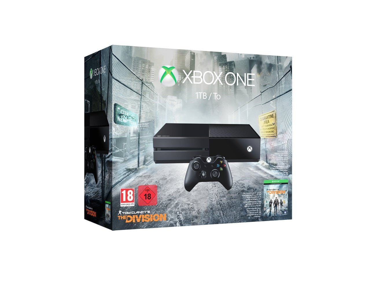 Xbox One 1 TB - with The Division