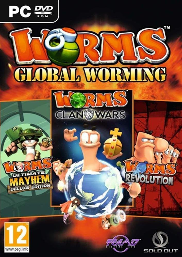 Worms Global Worming Triple Pack (PC DVD)