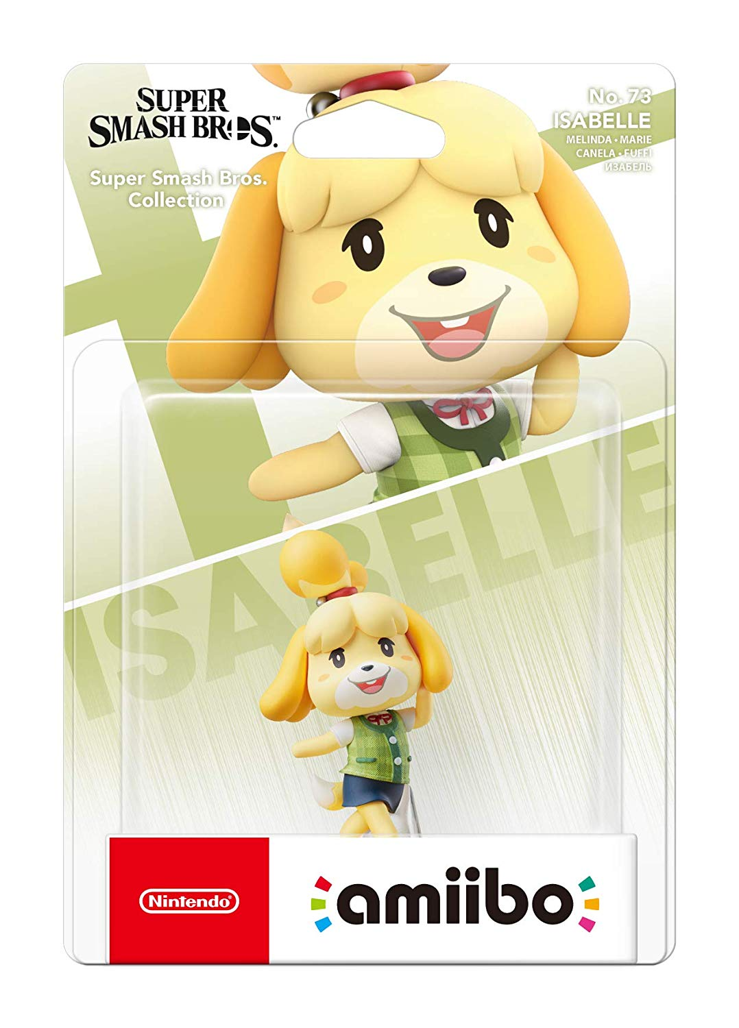 Super Smash Bros. Collection - Isabelle - Amiibo No 73