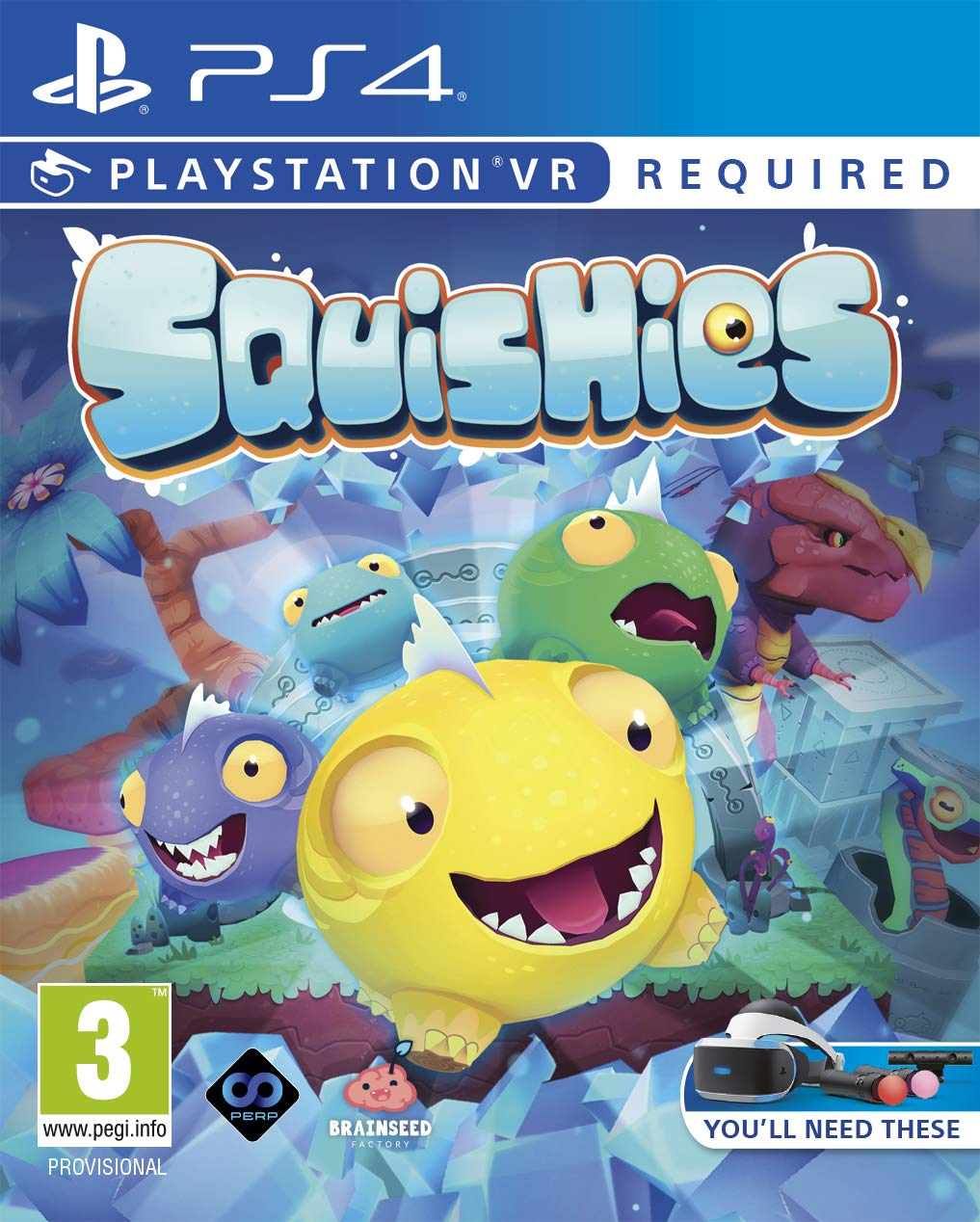 Squishies - PlayStation VR
