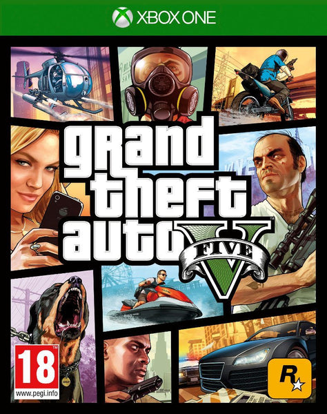 Grand Theft Auto V (Xbox One) - Video Games by Take 2 The Chelsea Gamer