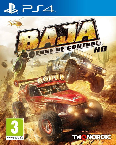 Baja: Edge of Control HD (PS4) - Video Games by Nordic Games The Chelsea Gamer