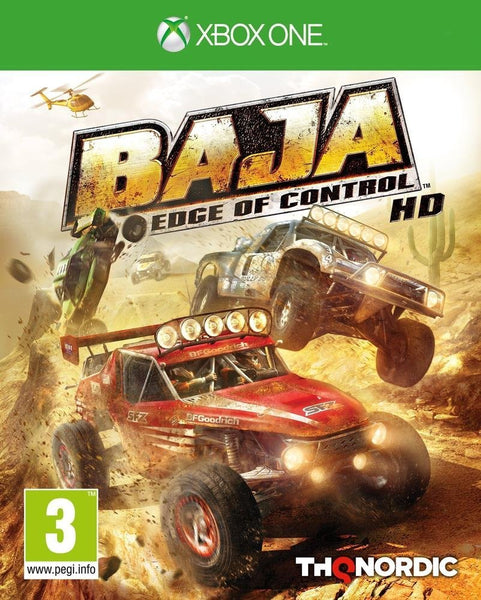 Baja: Edge of Control HD (Xbox One) - Video Games by Nordic Games The Chelsea Gamer