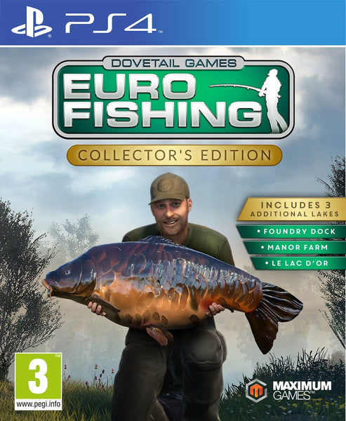 Euro Fishing Sim Collector's Edition - Video Games by Maximum Games Ltd (UK Stock Account) The Chelsea Gamer