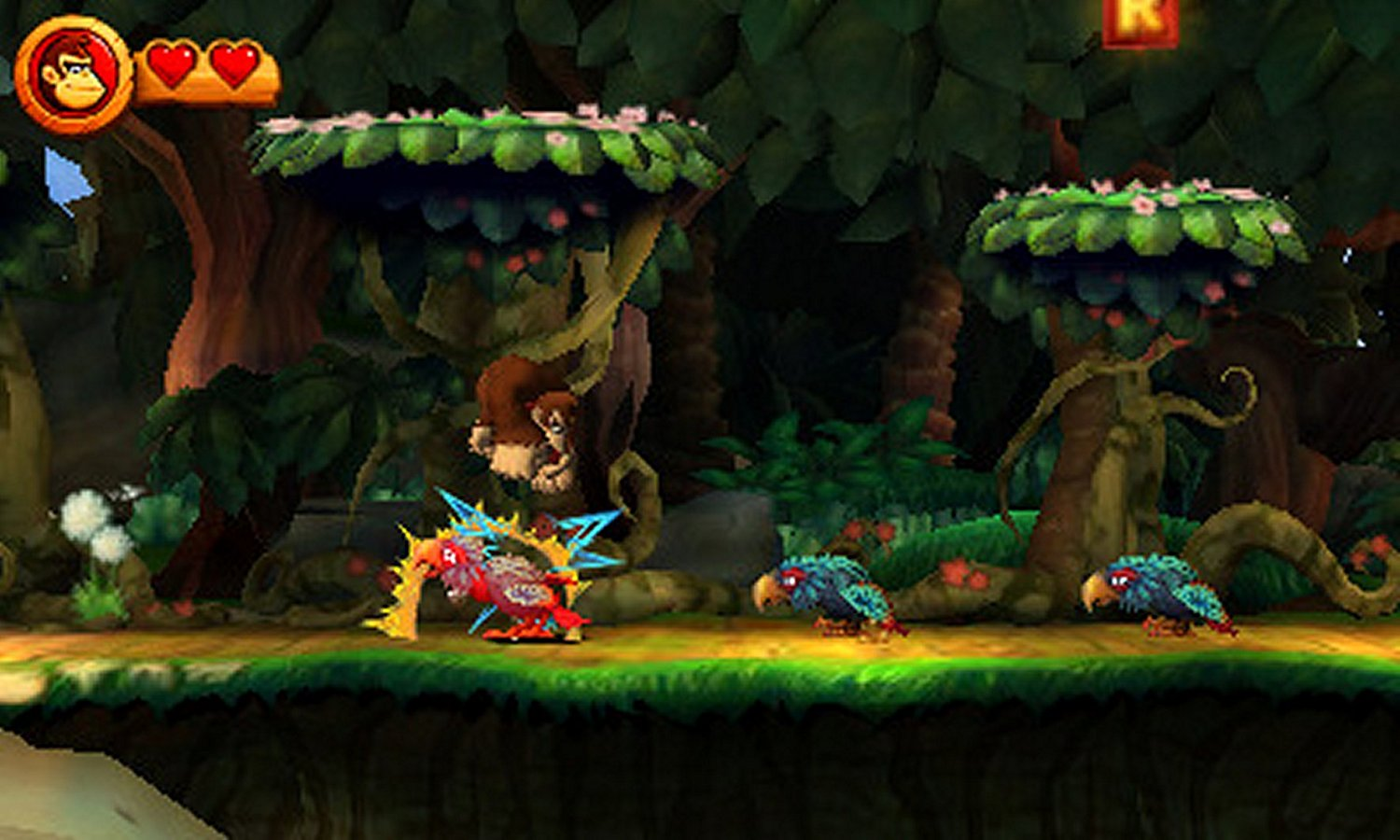Donkey Kong Country Returns - 3DS Selects