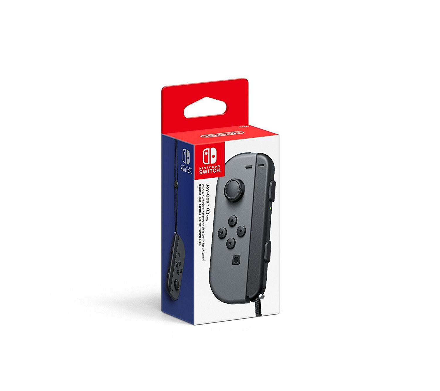 Joy-Con Controller Left - Grey (Nintendo Switch) - Console Accessories by Nintendo The Chelsea Gamer