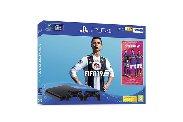 Sony PlayStation 4 - FIFA 19 500GB PS4™ Bundle with second DUALSHOCK 4 controller