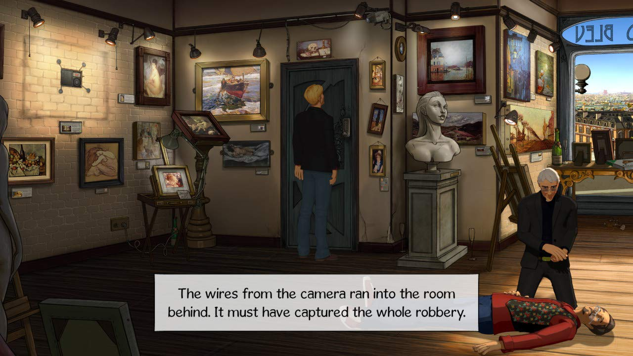 Broken Sword 5 - The Serpents Curse - Nintendo Switch - Video Games by Deep Silver UK The Chelsea Gamer